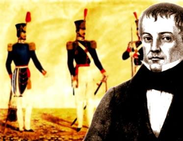 A Guarda Nacional foi instituída pela ação do ministro Diogo Antônio Feijó, em 1831.