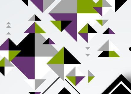 Polígonos com mesmo formato, mas de tamanhos diferentes