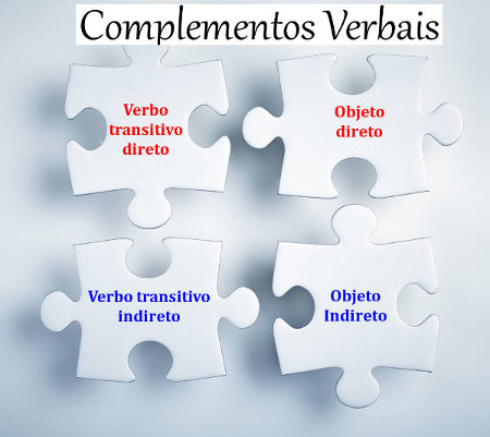 Os complementos verbais ligam-se a verbos transitivos