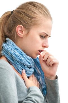 Tosse persistente é um dos sintomas da tuberculose