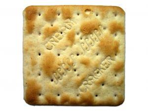 Biscoito água e sal e cream cracker