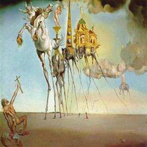 A tentação de Santo Antônio, Salvador Dalí.