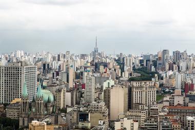 Cidade de São Paulo (SP), um dos principais centros urbanos brasileiros