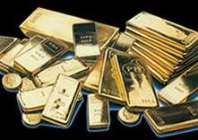 A densidade do ouro à 25°C é 19,3 g/cm3.