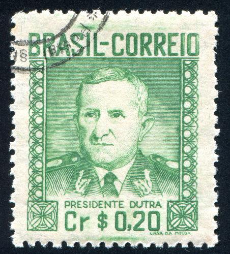 Eurico Gaspar Dutra foi o primeiro presidente da Quarta República e governou o Brasil de 1946 a 1951*