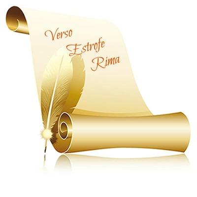 Entre os elementos do texto poético estão o verso, a estrofe e a rima