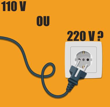 Do ponto de vista técnico, não há diferença entre as tensões 110 V e 220 V