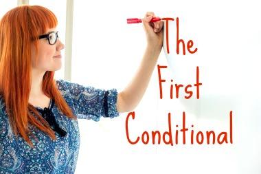 """""""First Conditional"""" indica que uma ação sempre poderá ser realizada"""