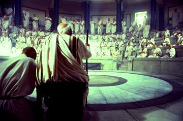 O Senado, principal instituição política do período Republicano.