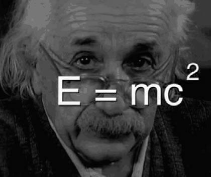 Albert Einstein e a energia relativística