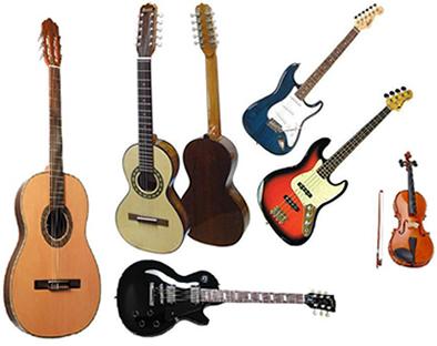 Os instrumentos musicais são fabricados a fim de que reproduzam as notas musicais de acordo com a escala escolhida