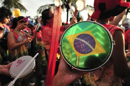 Manifestação cultural - carnaval no Rio de Janeiro*