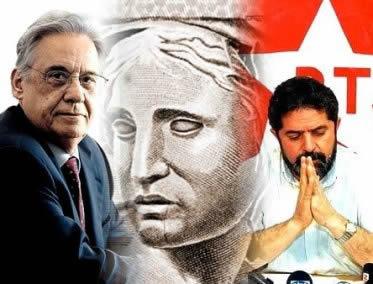 A euforia do Plano Real garantiu a vitória tranqüila de Fernando Henrique Cardoso nas eleições de 1994.