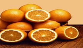 A laranja é rica em vitamina C