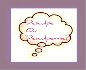 O verbo desculpar tanto pode se apresentar como transitivo direto, quanto como pronominal