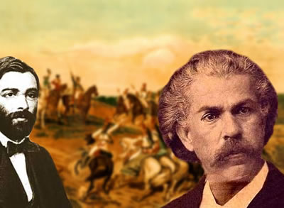 José de Alencar e Carlos Gomes foram alguns dos expoentes da arte no Brasil do século XIX.