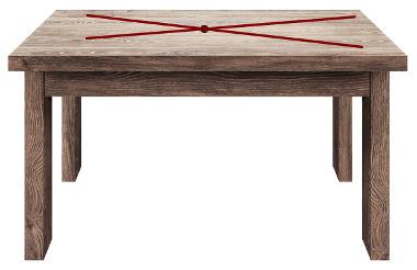 A superfície da mesa representa parte de um plano