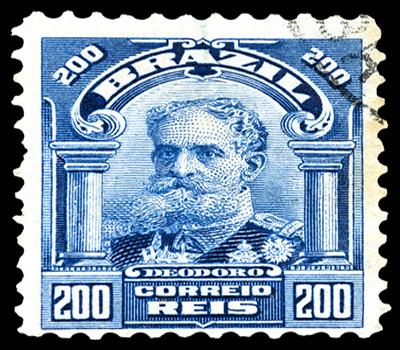 Marechal Deodoro da Fonseca, principal figura da Proclamação da República.*