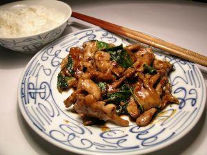 Prato típico chinês