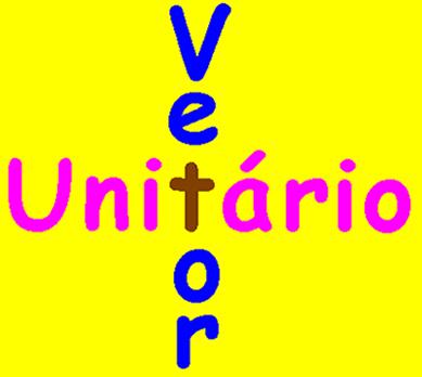 Vetor Unitário