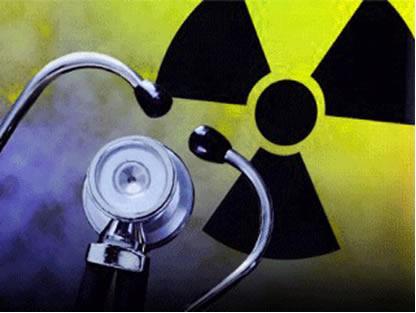 A radioatividade é aplamante utilizada na medicina