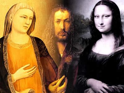 O Renascimento está dividido em fases marcadas por diferentes artistas e traços.