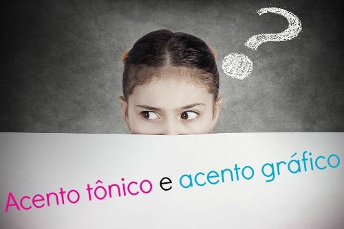 O acento tônico está relacionado com a intensidade dos fonemas, e os acentos gráficos marcam a sílaba tônica nas palavras escritas