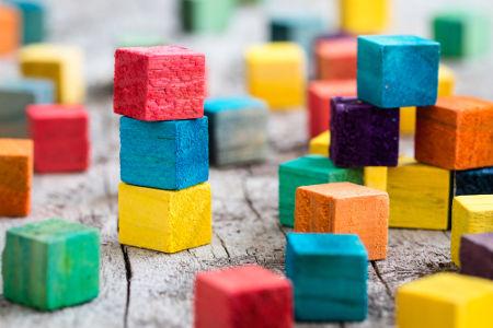 É possível calcular a medida da diagonal de blocos retangulares