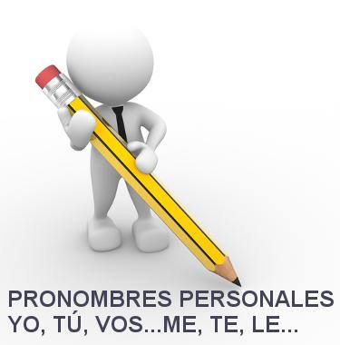 Os pronomes pessoais do espanhol possuem classificação e funções semelhantes aos do português