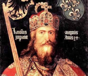 Carlos Magno empreendeu ações políticas que marcaram o auge do Reino dos Francos.