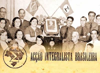 O integralismo conseguiu mobilizar algumas parcelas da classe média brasileira.
