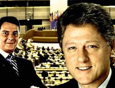 Collor e Clinton: duas figuras políticas que sofreram processos de impeachment.