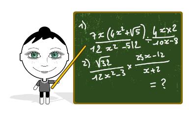 Você sabe como resolver essas e outras operações entre frações algébricas?