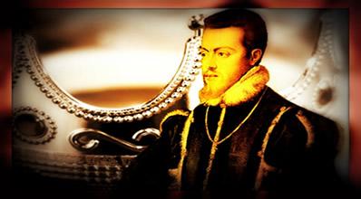 Filipe II, o rei que uniu as coroas portuguesa e espanhola.