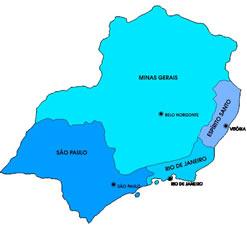 Região Sudeste