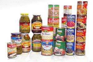 Alimentos enlatados devem ser bem escolhidos  e previamente fervidos antes de sua ingestão.