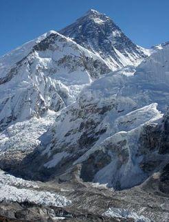 Monte Everest: uma paisagem chinesa