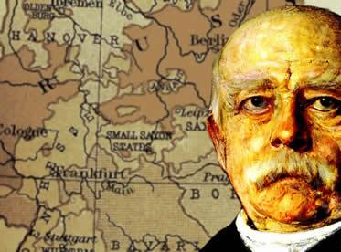 Otto Von Bismarck: peça fundamental para que a unificação dos estados alemães acontecesse.