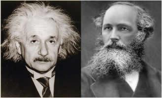 A Teoria da Relatividade de Einstein foi baseada nas teorias das ondas eletromagnéticas de Maxwell