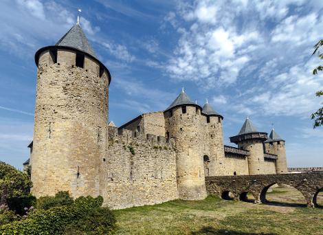 Castelo medieval, símbolo do feudalismo