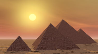 O Deus Aton era representado, no Egito Antigo, pelo Disco Solar