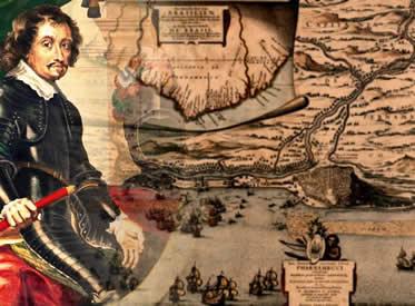 Maurício de Nassau foi responsável pela condução de boa parte das ações coloniais holandesas.
