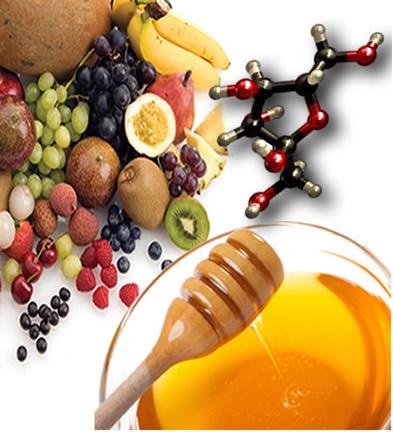 A frutose é encontrada no mel e em todas as frutas doces