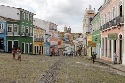 A cidade de Salvador, na Bahia, foi palco do movimento que ficou conhecido como Conjuração Baiana de 1798*