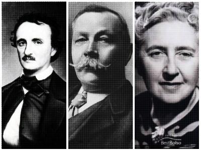 Edgar Allan Poe, Arthur Conan Doyle e Agatha Christie foram os grandes responsáveis pela popularização do Romance Policial