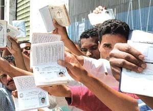 Há milhões de desempregados no Brasil e no mundo.