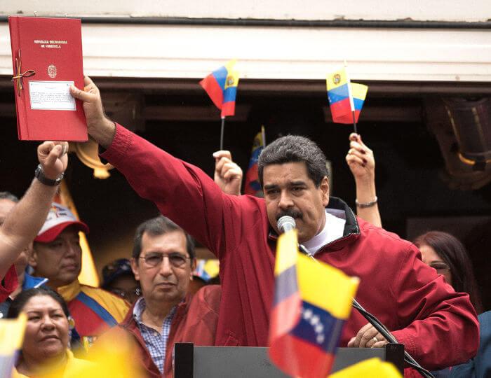 Nicolás Maduro é o presidente da Venezuela desde 2013 e é acusado de implantar um governo autoritário.*