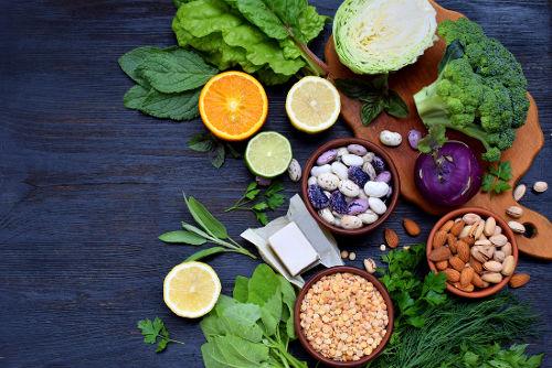 Exemplos de alimentos com ácidos