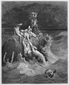 A Epopeia de Gilgamesh retratou um episódio de dilúvio semelhante à história de Noé