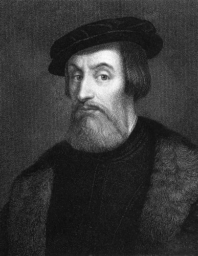 Retrato de Hernán Cortés, líder da expedição espanhola que conquistou o Império Asteca em 1521